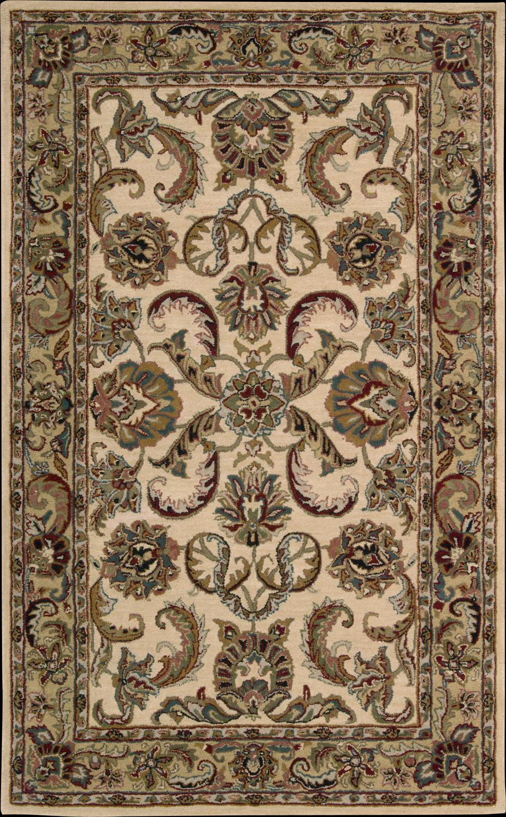 "Nourison India House Area Rug 3'6"" x 5'6"" - Item Number: 65122"