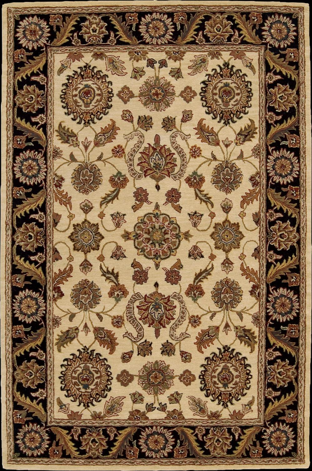 "Nourison India House Area Rug 3'6"" x 5'6"" - Item Number: 85497"