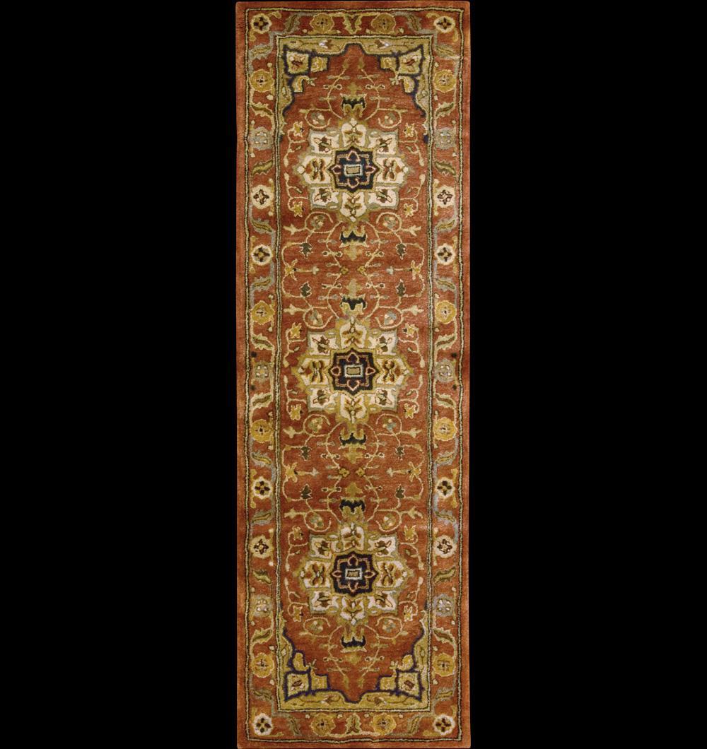 "Nourison Jaipur Area Rug 2'4"" x 8' - Item Number: 34221"