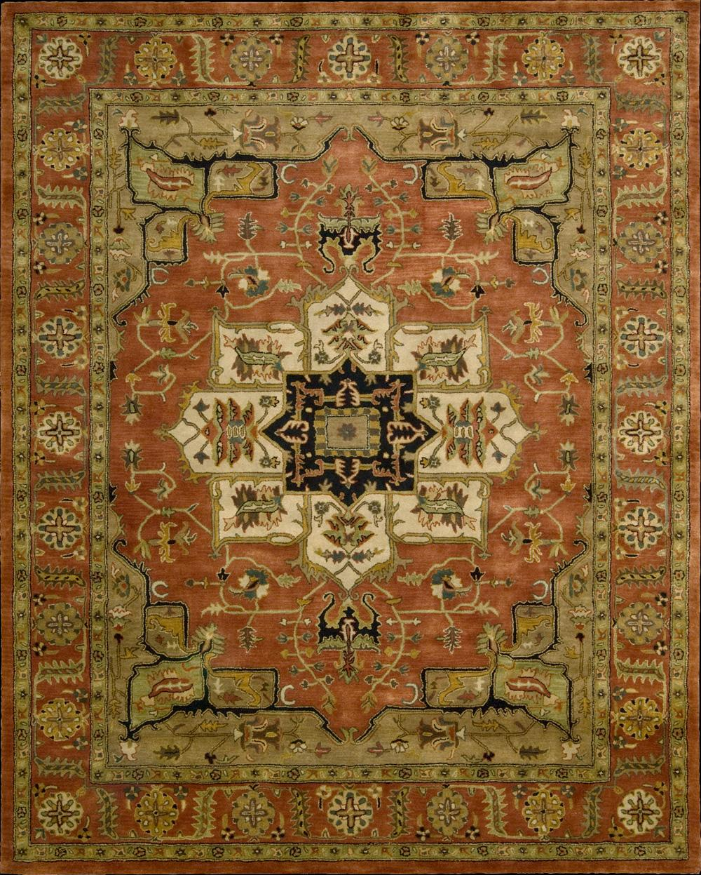 "Nourison Jaipur Area Rug 3'9"" x 5'9"" - Item Number: 34239"
