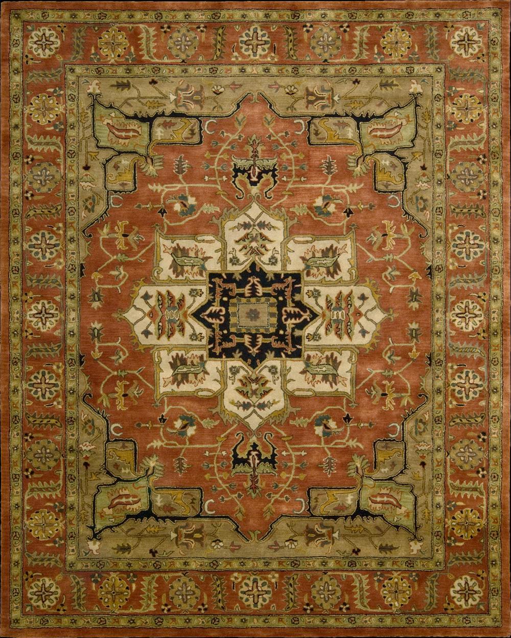 "Nourison Jaipur Area Rug 7'9"" x 9'9"" - Item Number: 34275"