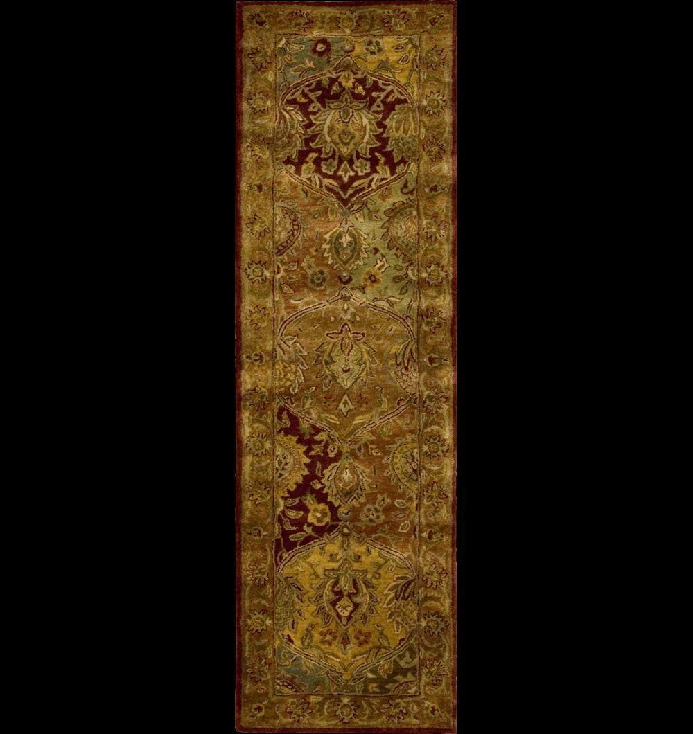 "Nourison Jaipur Area Rug 2'4"" x 8' - Item Number: 55219"
