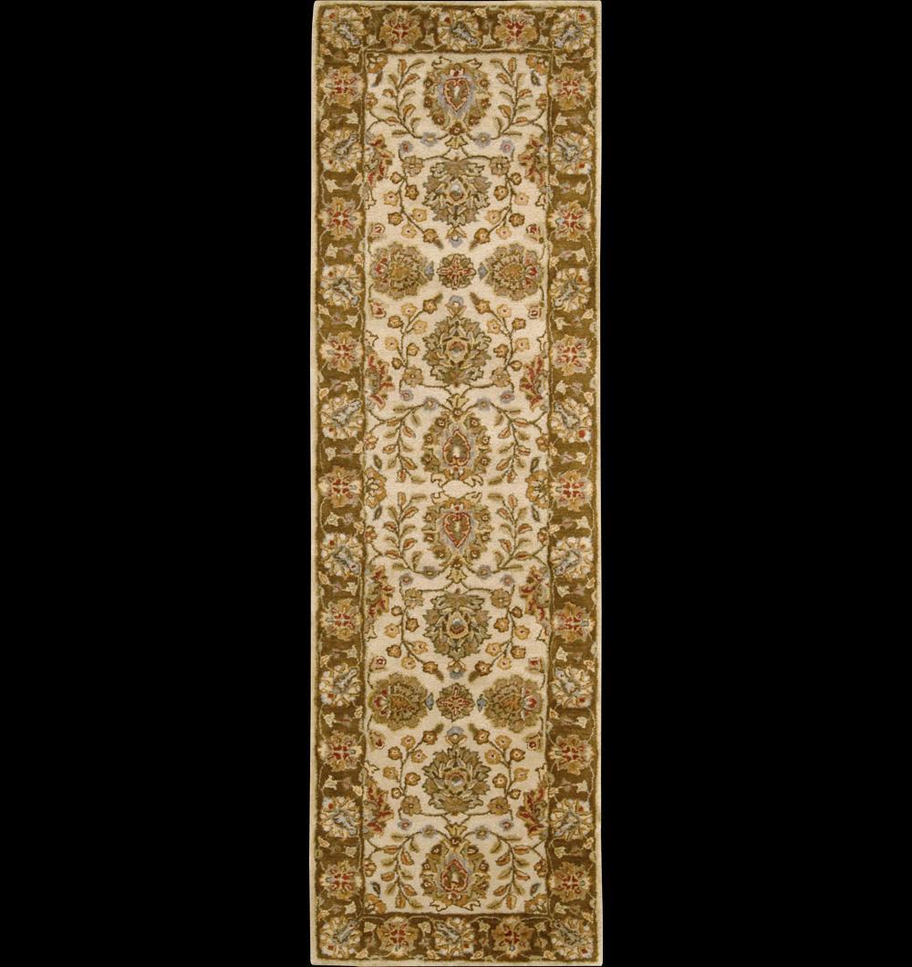 "Nourison Jaipur Area Rug 2'4"" x 8' - Item Number: 8895"