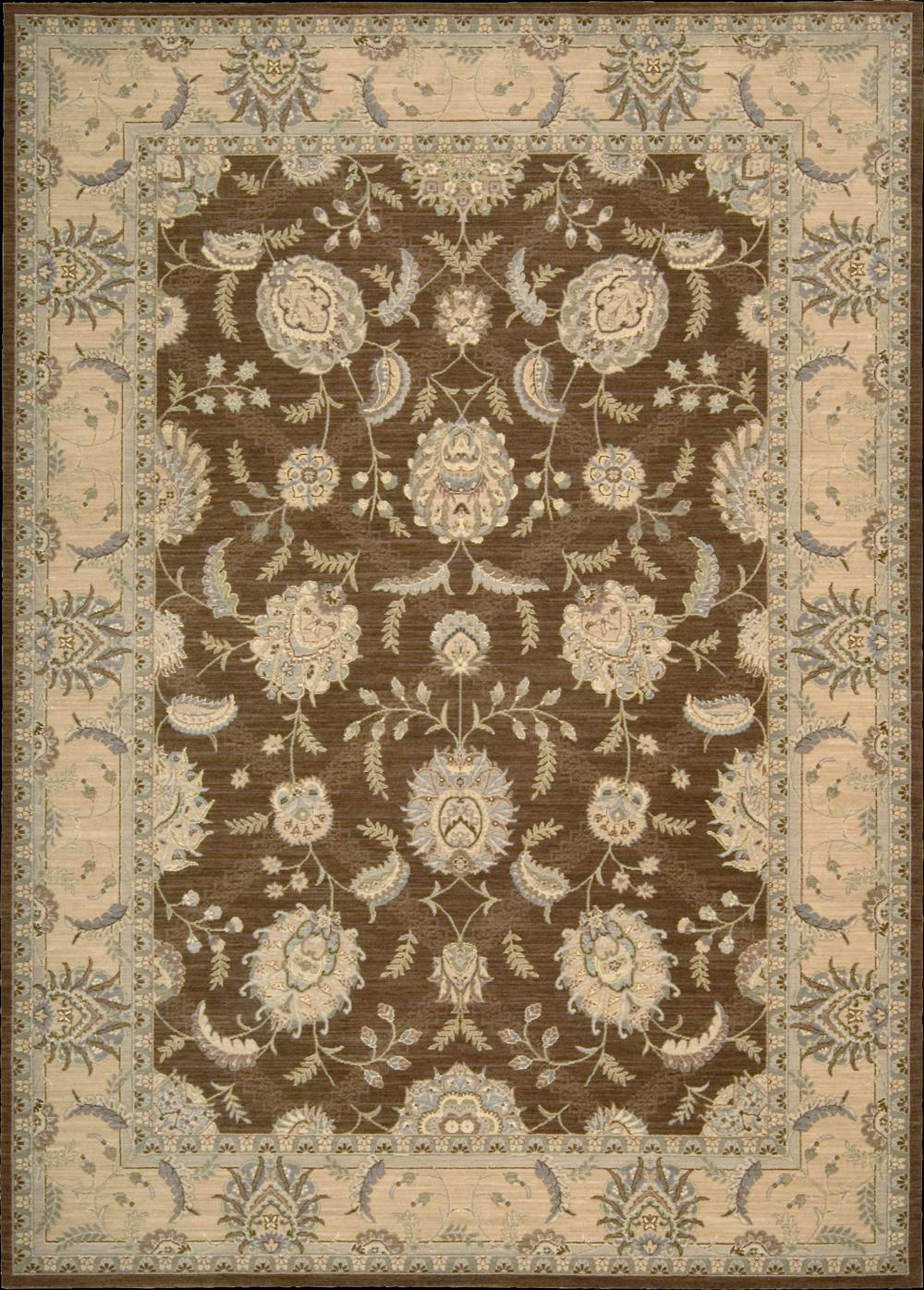 "Nourison Persian Empire Area Rug 7'9"" x 10'10"" - Item Number: 25527"