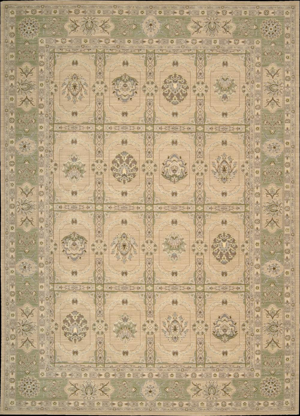 "Nourison Persian Empire Area Rug 7'9"" x 10'10"" - Item Number: 25563"