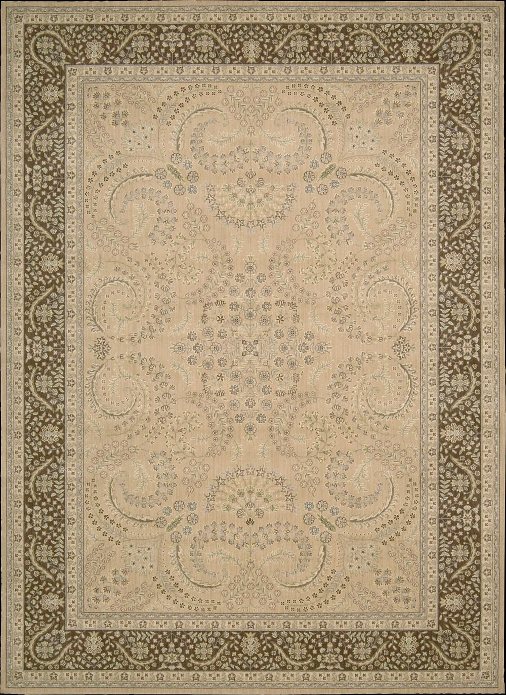 "Nourison Persian Empire Area Rug 5'3"" x 7'5"" - Item Number: 44238"