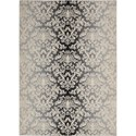 "Nourison Riviera 5'3"" x 7'5"" Charcoal Area Rug - Item Number: 27155"