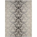 "Nourison Riviera 3'6"" x 5'6"" Charcoal Area Rug - Item Number: 27156"