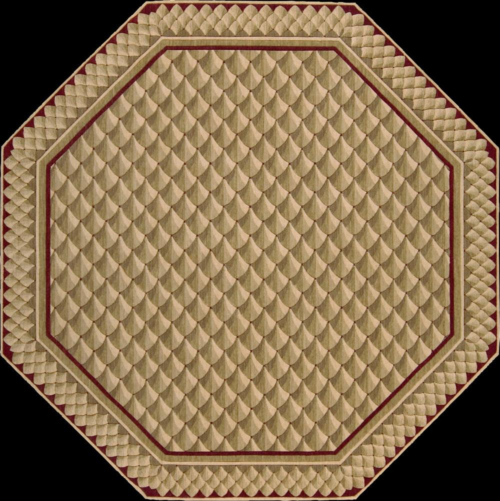 "Nourison Vallencierre Area Rug 5'6"" x 5'6"" - Item Number: 37654"