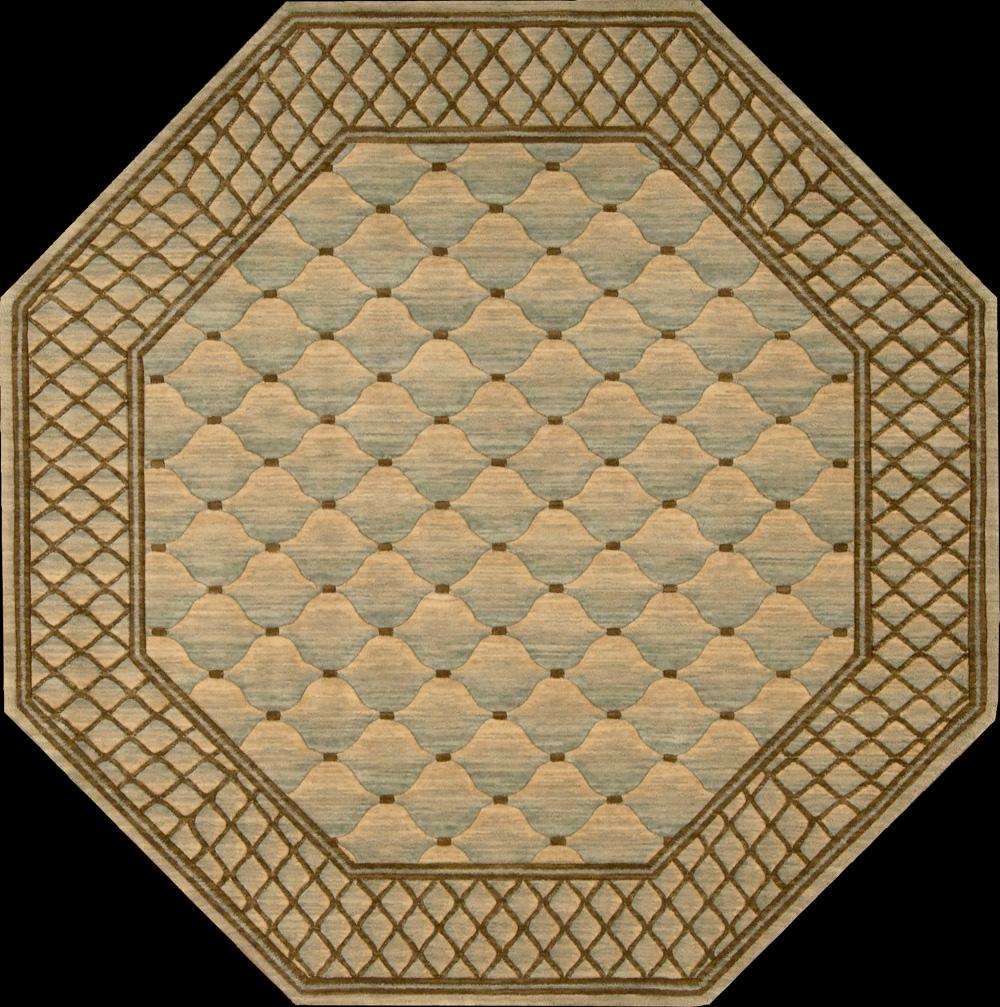 """Nourison Vallencierre Area Rug 5'6"""" x 5'6"""" - Item Number: 62195"""