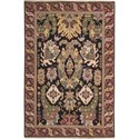 Nourison Nourmak 12' x 15' Black Area Rug - Item Number: 04261
