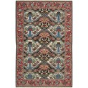 "Nourison Nourmak 9'10"" x 13'10"" Multicolor Area Rug - Item Number: 07407"