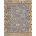 "Nourison Nourmak 8'10"" x 11'10"" Blue Area Rug - Item Number: 11208"