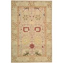 "Nourison Nourmak 3'10"" x 5'10"" Gold Area Rug - Item Number: 39554"