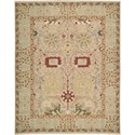 "Nourison Nourmak 7'10"" x 9'10"" Gold Area Rug - Item Number: 39572"