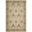 "Nourison Nourmak 5'10"" x 8'10"" Light Green Area Rug - Item Number: 50576"
