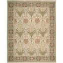 "Nourison Nourmak 7'10"" x 9'10"" Light Green Area Rug - Item Number: 50612"