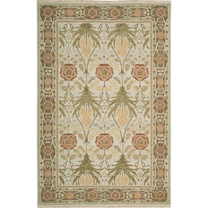 "Nourison Nourmak 9'10"" x 13'10"" Light Green Area Rug"