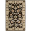 "Nourison Nourmak 8'10"" x 11'10"" Black Area Rug - Item Number: 55032"