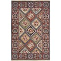 "Nourison Nourmak 3'10"" x 5'10"" Multicolor Area Rug - Item Number: 56149"