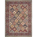 "Nourison Nourmak 8'10"" x 11'10"" Multicolor Area Rug - Item Number: 56179"
