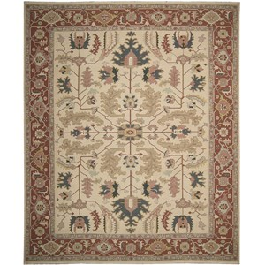 "Nourison Nourmak 9'10"" x 13'10"" Light Gold Area Rug"