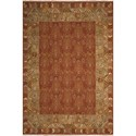 "Nourison Nourmak 7'10"" x 9'10"" Brown Area Rug - Item Number: 66659"