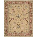 "Nourison Nourmak 7'10"" x 9'10"" Gold Area Rug - Item Number: 70612"