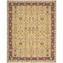 "Nourison Nourmak 7'10"" x 9'10"" Yellow Area Rug - Item Number: 87426"