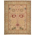 Nourison Nourmak 12' x 15' Gold Rectangle Rug - Item Number: S123 GLD 12X15