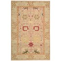 "Nourison Nourmak 3'10"" x 5'10"" Gold Rectangle Rug - Item Number: S123 GLD 310X510"