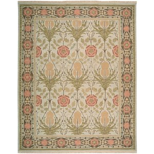 Nourison Nourmak 12' x 18' Light Green Rectangle Rug