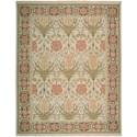 "Nourison Nourmak 9'10"" x 13'10"" Light Green Rectangle Rug - Item Number: S144 LTG 910X1310"