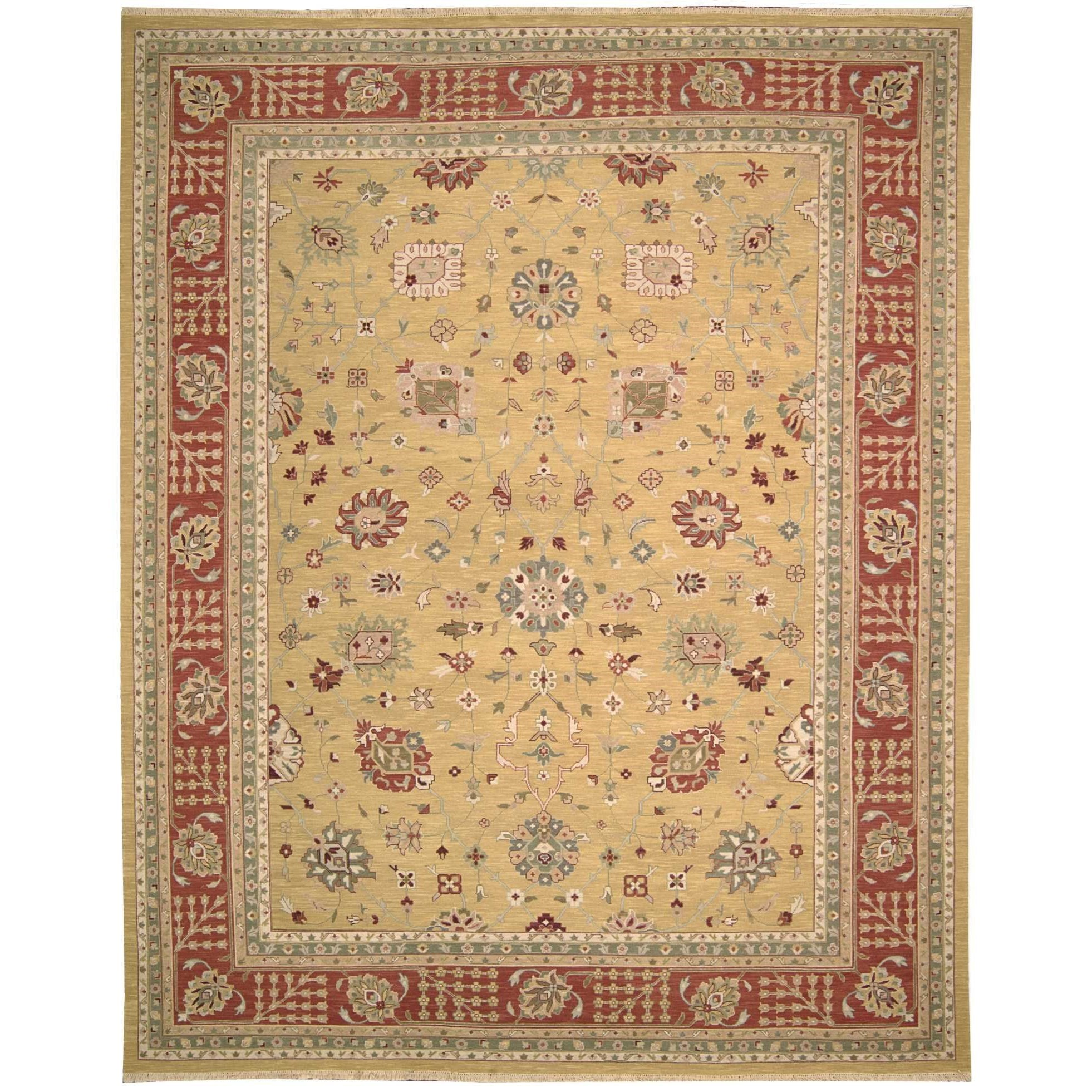 12' x 15' Gold Rectangle Rug