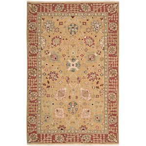 "Nourison Nourmak 3'10"" x 5'10"" Gold Rectangle Rug"