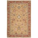 "Nourison Nourmak 3'10"" x 5'10"" Gold Rectangle Rug - Item Number: S169 GLD 310X510"