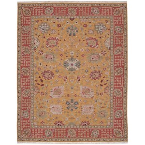 """8'10"""" x 11'10"""" Gold Rectangle Rug"""