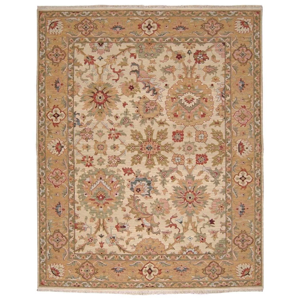 9 X 12 Nourison Nourmak Hand Knotted 100 Wool Persian: Nourison Nourmak S174 BGE 12X15 12' X 15' Beige Rectangle