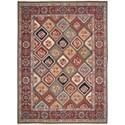 Nourison Nourmak 12' x 18' Multicolor Rectangle Rug - Item Number: SK43 MTC 12X18