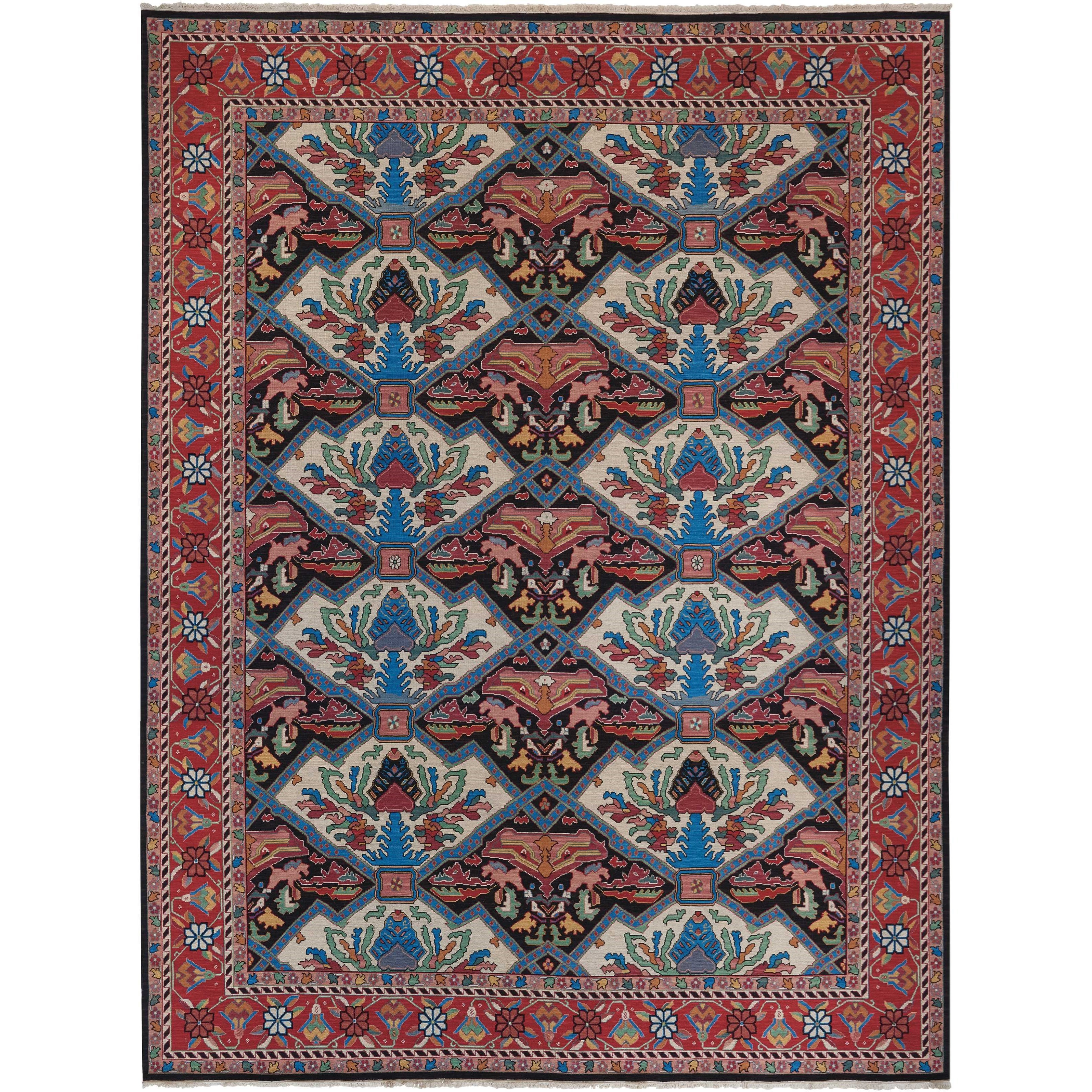 12' x 15' Multicolor Rectangle Rug