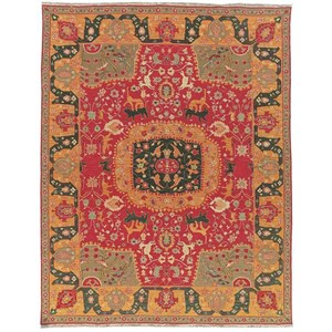 Nourison Nourmak 12' x 15' Red Rectangle Rug