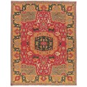 Nourison Nourmak 12' x 15' Red Rectangle Rug - Item Number: SK63 RED 12X15