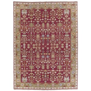 Nourison Nourmak 12' x 18' Burgundy Rectangle Rug