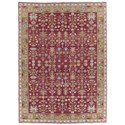 "Nourison Nourmak 8'10"" x 11'10"" Burgundy Rectangle Rug - Item Number: SK92 BUR 810X1110"