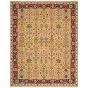 Nourison Nourmak 12' x 18' Yellow 605 Rectangle Rug - Item Number: SK92 YEL 12X18