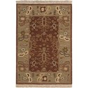 Nourison Nourmak 2' x 3' Brown Rectangle Rug - Item Number: SK93 BRN 2X3