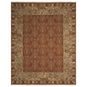 "Nourison Nourmak 3'10"" x 5'10"" Brown Rectangle Rug - Item Number: SK93 BRN 310X510"