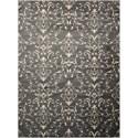 "Nourison Nova 3'11"" X 5'3"" Grey Rug - Item Number: NO101 GRY 311X53"