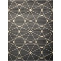 "Nourison Nova 7'10"" X 10'6"" Grey Rug - Item Number: NO102 GRY 710X106"