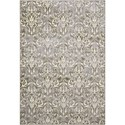 "Nourison Nova 3'2"" X 4'7"" Grey Rug - Item Number: NO118 GRY 32X47"